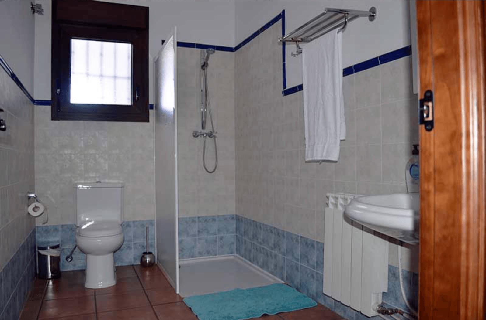 Cuarto de baño Casa Rural Mirador de los Tomillos