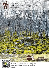 Ruta Ambugaloso - Cereceda. C.R. Mirador de los Tomillos