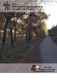 Ruta Fuencaliente - Ventillas. C.R. Mirador de los Tomillos